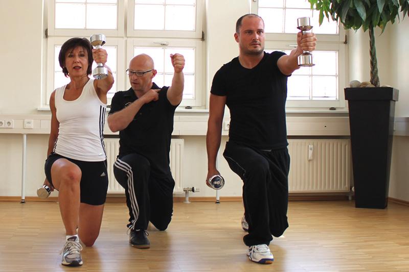 Bewegung und Sport helfen zur Vorbeugung vor Beschwerden